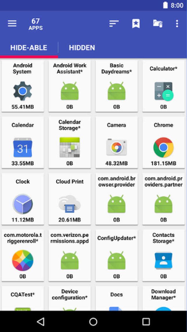 использование программы AppMgr Pro III․
