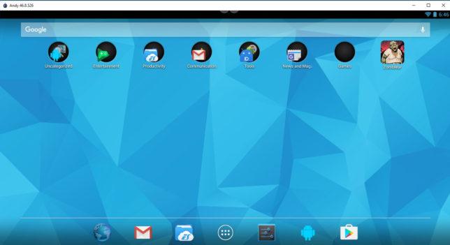 Andy Android Emulator для РС – бесплатно и для разных целей